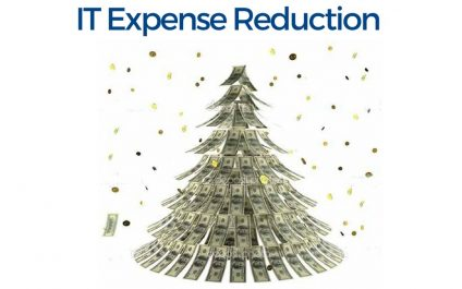 IT Expense Reduction for the Holidays — December 15th
